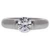1.23 ct. Round Cut Solitaire Ring, G, VS2 #1