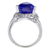 9.07 ct. Triangular Cut Ring, Blue, VS1-VS2 #3
