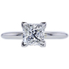 1.20 ct. Princess Cut Solitaire Ring, F, VS1 #3