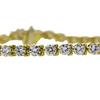 Round Cut Tennis Bracelet, H-I, SI2-I1 #2