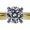 0.69 ct. Round Modified Brilliant Cut Bridal Set Ring, H, SI1 #2