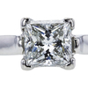 1.58 ct. Princess Cut Bridal Set Ring, G, SI1 #3
