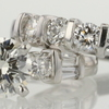 0.98 ct. Round Cut Bridal Set Ring #1
