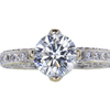 2.05 ct. Round Cut Solitaire Ring, J-K, I2-I3 #2