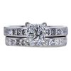 1.01 ct. Princess Cut Bridal Set Ring, G, VS1 #3