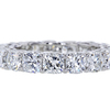 Cushion Cut Eternity Band Ring #1