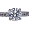 1.5 ct. Round Cut Solitaire Ring, D, I1 #3