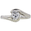 0.77 ct. Round Cut Solitaire Ring, H, SI2 #3