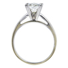 2.12 ct. Princess Cut Solitaire Ring, I, SI2 #2