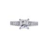 1.01 ct. Princess Cut Solitaire Ring, E, VVS2 #3