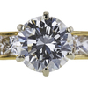 1.02 ct. Round Cut Bridal Set Ring, G, VVS1 #4