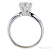 0.9 ct. Round Cut Bridal Set Ring, D, VVS2 #4