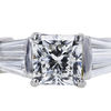 1.51 ct. Radiant Cut Solitaire Ring, F, VS2 #4