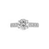 1.5 ct. Round Cut Solitaire Ring, H, SI2 #3