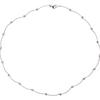 Round Cut Collar Necklace, G-H, I1-I2 #4