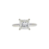 2.04 ct. Princess Cut Solitaire Ring, J, VS2 #3