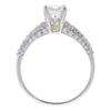 1.07 ct. Princess Cut Bridal Set Ring, E, SI1 #4