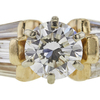 0.7 ct. Round Cut Solitaire Ring, H, SI1 #4