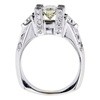 1.50 ct. Oval Cut Bridal Set Ring #3