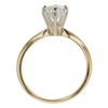 1.0 ct. Round Cut Solitaire Ring, I, SI2 #4
