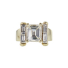 3.63 ct. Emerald Cut Solitaire Ring, J, VVS1 #3