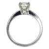 1.04 ct. Cushion Cut Bridal Set Tiffany & Co. Ring, H, VVS2 #4