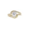 0.71 ct. Round Cut Bridal Set Ring, I, SI1 #3