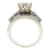 1.7 ct. Round Cut Bridal Set Ring, G, SI1 #4