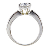 1.84 ct. Oval Cut Bridal Set Ring #2