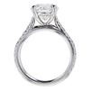 2.26 ct. Round Cut Bridal Set Ring #2
