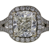 2.41 ct. Cushion Cut Halo Ring #1
