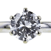 1.47 ct. Round Cut Solitaire Ring, E, SI1 #4