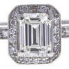 1.02 ct. Emerald Cut Solitaire Ring, I, VVS2 #4