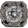 .97 ct. Round Cut Halo Ring #3