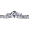 2.24 ct. Round Cut Bridal Set Ring, F, VS2 #3
