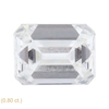 1.52 ct. Emerald Cut 3 Stone Ring, H, VVS2 #3