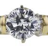 1.52 ct. Round Cut Bridal Set Ring, J, SI1 #4