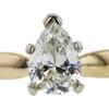 1.05 ct. Pear Cut Bridal Set Ring, H, SI1 #4