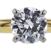 1.07 ct. Round Cut Solitaire Ring, G, SI2 #4