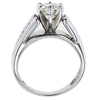 1.36 ct. Round Cut Solitaire Ring, J, SI1 #2