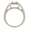 0.63 ct. Round Cut Halo Ring, H, VS2 #3