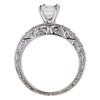 1.22 ct. Emerald Cut Bridal Set Ring #2