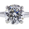 1.65 ct. Round Cut Solitaire Ring, G, VVS2 #4