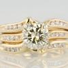 1.02 ct. Round Cut Bridal Set Ring #1