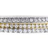 Round Cut Bangle Bracelet, I-J, SI1-SI2 #1