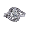 1.01 ct. Pear Cut Solitaire Ring, H, SI2 #3
