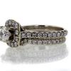 .95 ct. Round Cut Bridal Set Ring #2