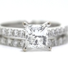 1.22 ct. Princess Cut Bridal Set Ring #1