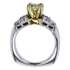 1.21 ct. Cushion Cut Solitaire Ring, Fancy, VVS2 #3