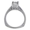 0.95 ct. Princess Cut Bridal Set Ring, I-J, VS1-VS2 #3